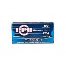 Munição 6,35 mm Bullet 3,25g - 50Gr