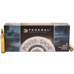 Mun. Fed. Cal. 223 Rem 55GR SP Power-Shok -223A