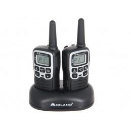 Midland XT-50 PMR 2 rádios + carregador