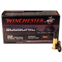 Win Mun 22 LR Subsonic 40GR TLS