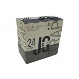 Cartuchos JG Trap 24gr - Cal.12-Chumbo 7,5