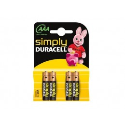 Pilha Simplly Duracell AAA LR03/MN2400