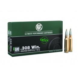 Munição RWS 308 WIN EVO GREEN 8,8g /136gr