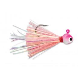 Cabeçote Glow Jig Pink 3/8