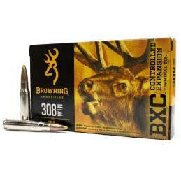 Munição Brg 308Win 168Gr. BXC