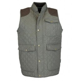 Colete Thistle Quilted Homem