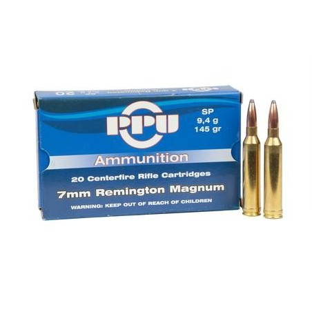Munição PPU 7mm RemMag 174grs SP