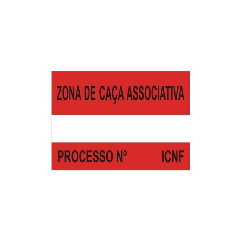 Placa Sinalética Modelo 4 (ZCA)