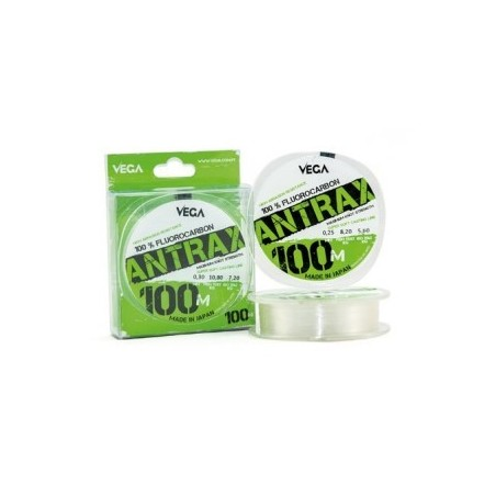 Fio vega Antrax 100% Fluorcarbon 100Mt