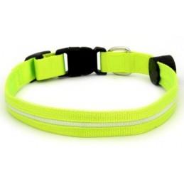 Colar LED Locator Verde 30 a 45cm
