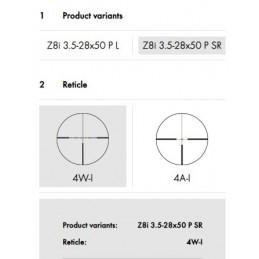 Visor Swarovski Z8i 3,5-28x50 P SR 4Ai