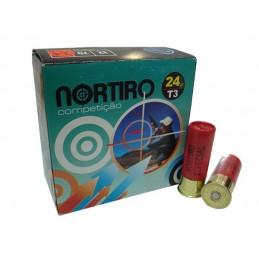 Cartuchos Nortiro 24Gr T3 Competição