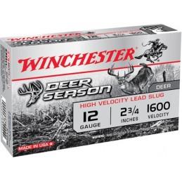 Munição Winchester Deer Season Slug 12  35g