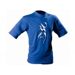 T-Shirt Middle Buck Blue