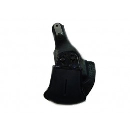 Coldre Masc Couro Preto Tugra Walther P99