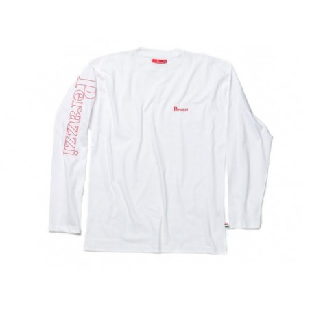 T-Shirt Perazi manga longa BRANCA