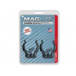 Fixador de parede para lanternas Maglite D-cell.