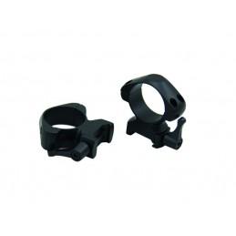 Anéis Weaver QAço 30mm Alto SR-Q3002WH