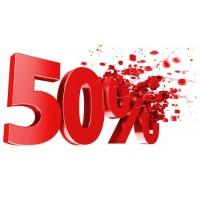 Promoção Final Época 50%