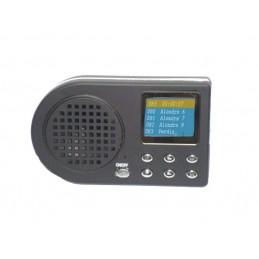 Reprodutor de cantos MP3