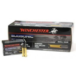 Win Mun 22 WM Subsonic 45Gr Hp
