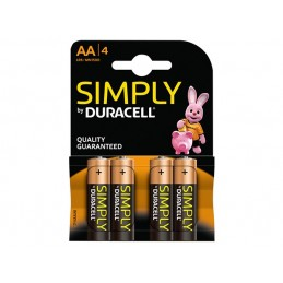 Pilha Simplly Duracell  AA...