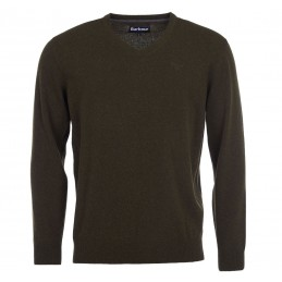 Camisola Barbour Lambswool V-Neck