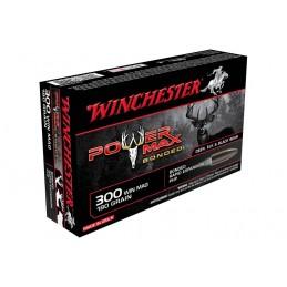 Munição Wnchester 300WM 180gr Power Max
