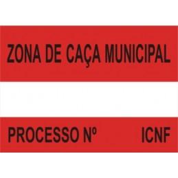 Placa Sinalética Modelo 2 (ZCN)