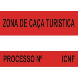 Placa Sinalética Modelo 3 (ZCT)