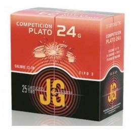 Cartucho JG T-3 Plato 24gr 7 1/2