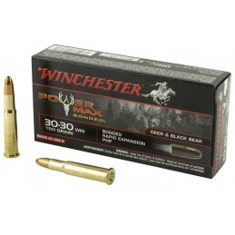 Munição Winchester 30-30 Win. 150 Gr POWER MAX