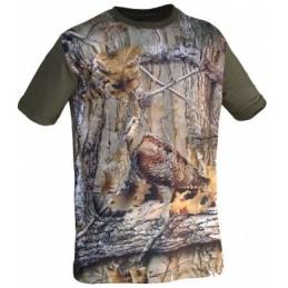 """T-Shirt 3d Camu """"Galinhola"""""""