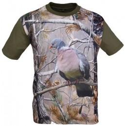 """T-shirt 3d Camu """"Pomba"""""""