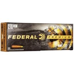 Munição Federal 270WSM...