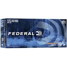 Munição Federal 375H&H...