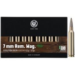 Munição RWS 7mm Rem. Mag....