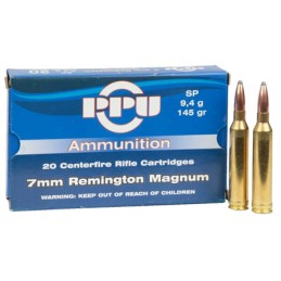 Munição PPU 7mm RemMag...