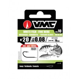 Anzois VMC White Fish Red