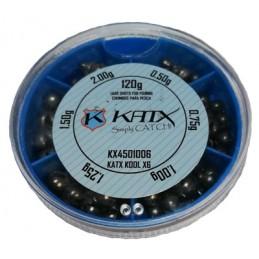Caixa Chumbos Katx Kool X6