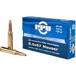 Mun. PPU 6,5x57 Mauser...